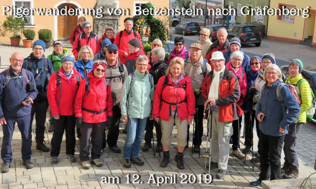 Pilgerwanderung am 12.April 2019